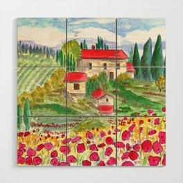 Tuscan Wood Wall Art