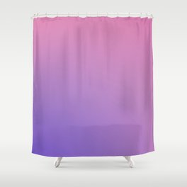 TAINTED CANDY - Minimal Plain Soft Mood Color Blend Prints Shower Curtain