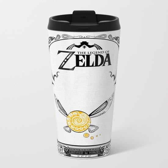 Zelda legend - Navi Metal Travel Mug