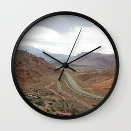 exiting arches Wall Clock