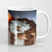 gizmo Mugs featuring Gizmo  by Erika VBL