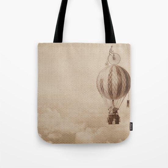 riding high Tote Bag