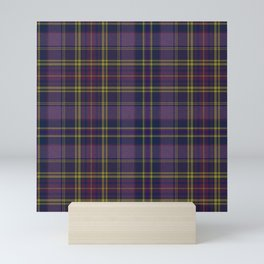 Purple Tartan Mini Art Print