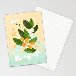 Botanical Diagram: Kumquat Stationery Cards