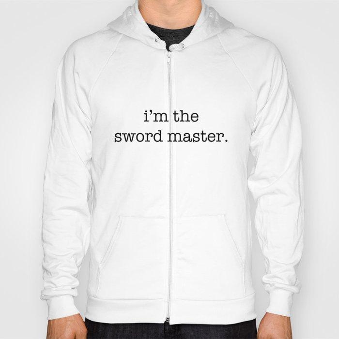 sword master Hoody