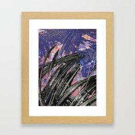 Blue + Purple (MPH) Framed Art Print