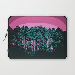 Mod trees. Pink Teal Laptop Sleeve