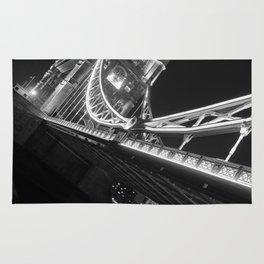 Tower Bridge at Night Rug