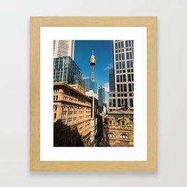 Pitt Street, Sydney Framed Art Print