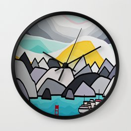 Deep Cove Wall Clock