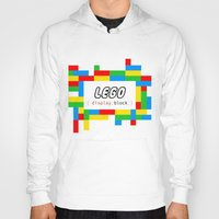 pun Hoodies featuring CSS Pun - Lego by iwantdesigns