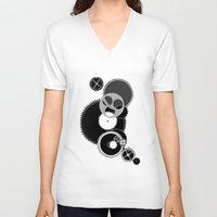 gears of war V-neck T-shirts featuring Gears 2 by Ava Mallett