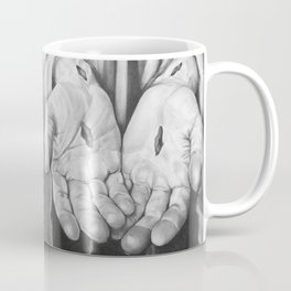 Jesus Hands Coffee Mug