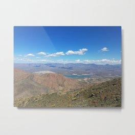 Overlooking Horseshoe Lake from Humboldt Metal Print
