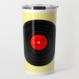 Born to Run Vinyl Travel Mug
