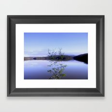 Moondarar Reservoir  Framed Art Print