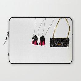 Red soles Laptop Sleeve
