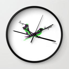 Don't fall for me my love Wall Clock