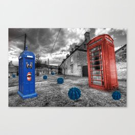 Revenge of the killer phone box  Canvas Print