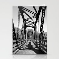 bridge Stationery Cards featuring Bridge by Danielle Podeszek