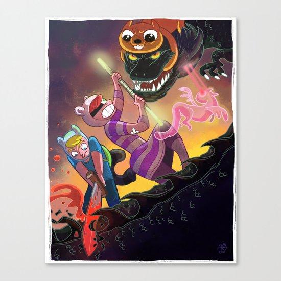 Epic Fan Art Battle Canvas Print