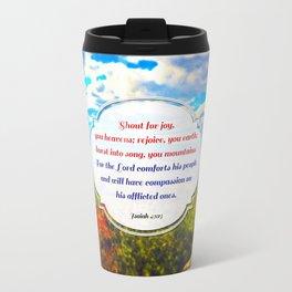 Shout for Joy! Travel Mug