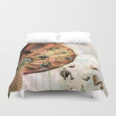 A Carnival In the Sky III Duvet Cover