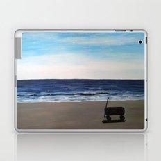 wagon on the beach Laptop & iPad Skin