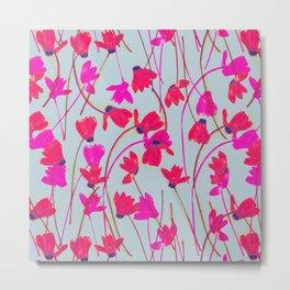 Flowering Cyclamen #4 Metal Print