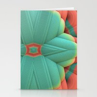 deco Stationery Cards featuring Miami Deco by Lyle Hatch