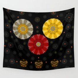 Color And Strawberrys Wall Tapestry