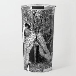 asc 836 - La panthère et le zèbre (Jungle fever) Travel Mug