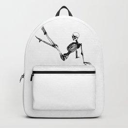 Skeleton Breakdance Backpack