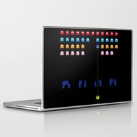 spaceman Laptop & iPad Skins featuring Spaceman by Greg Guillemin