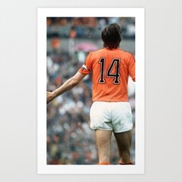 JC14 Cruijff Art Print