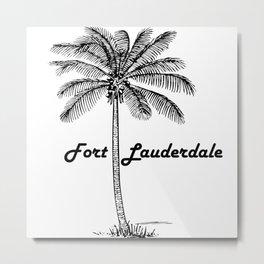 Fort Lauderdale Metal Print