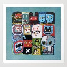 Instant drôlatique 3  Art Print