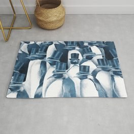 A Gathering of Gentlemen (square format) Rug