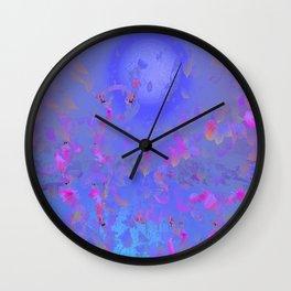 Pattern Lila Rose Wall Clock
