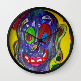 Monster Fairy Wall Clock