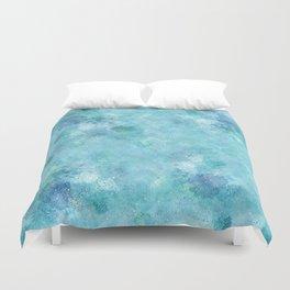 Blue Galaxy Duvet Cover