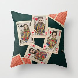 Lily, Rosemary and The Jack of Hearts - Bob Dylan Throw Pillow