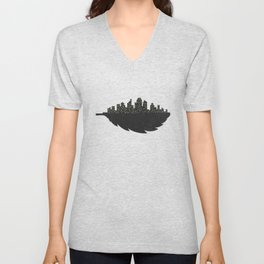 Leaf City Unisex V-Neck