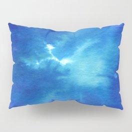 Blue Powder Pillow Sham