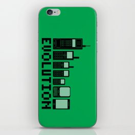 Cell Phone Evolution iPhone Skin