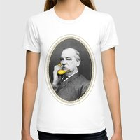 cleveland T-shirts featuring Grover Cleveland & Bananaphone by Kate Creates