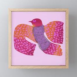 Wild Bird Framed Mini Art Print