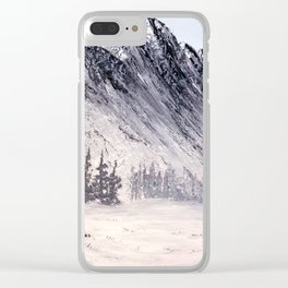 Eastern slope of the Rockies Clear iPhone Case