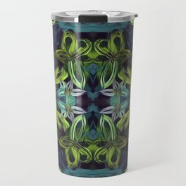 Tropical Greenery Travel Mug