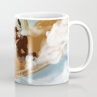 dungeons and dragons Mugs featuring Dragons and Direction: Niall by invisibleinnocence